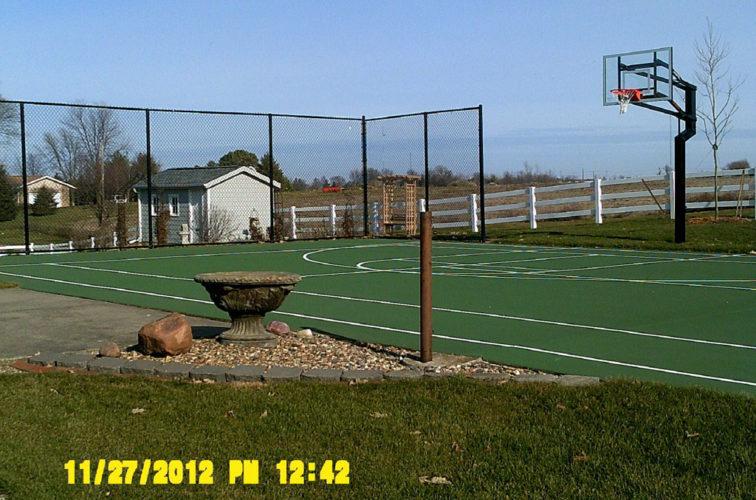AFC Cedar Rapids - Chain Link Fencing, 10' Black Vinyl Chain Link - AFC - IA