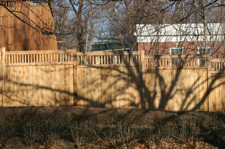 AFC Cedar Rapids - Wood Fencing, 1035 Custom Dato