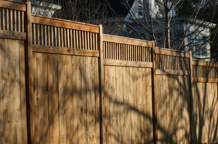 AFC Cedar Rapids - Wood Fencing, 1036 Custom Dato