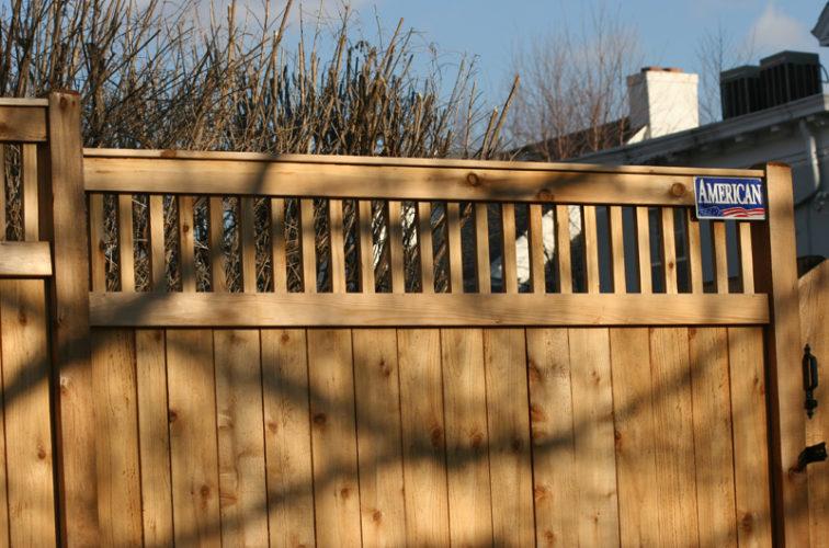 AFC Cedar Rapids - Wood Fencing, 1043 Custom Dato