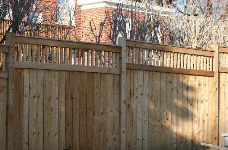 AFC Cedar Rapids - Wood Fencing, 1044 Custom Dato