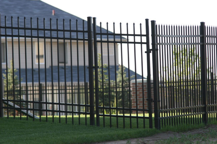 AFC Cedar Rapids - Ornamental Fencing, 1060 6' Classic 4 rail black