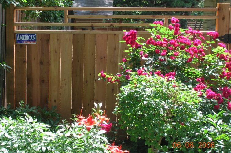 AFC Cedar Rapids - Wood Fencing, 1073 Frank Lloyd Wright Fence