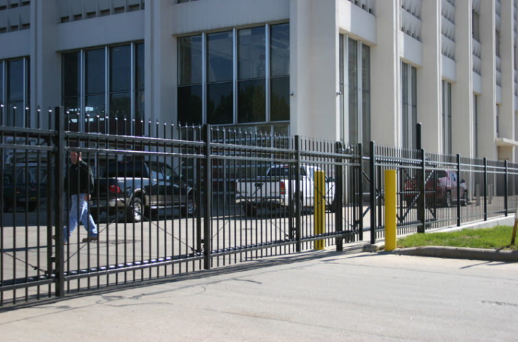 AFC Cedar Rapids - Ornamental Fencing, 1074 Energry Services Gate 2