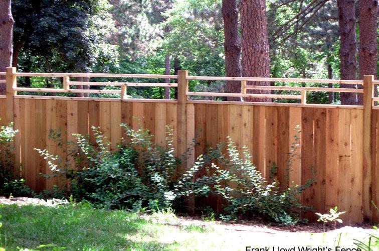 AFC Cedar Rapids - Wood Fencing, 1074 Frank Lloyd Wright Fence