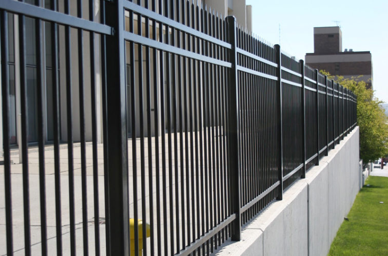 AFC Cedar Rapids - Ornamental Fencing,1075 Classic Black Aegis II Energy Services Fence 2