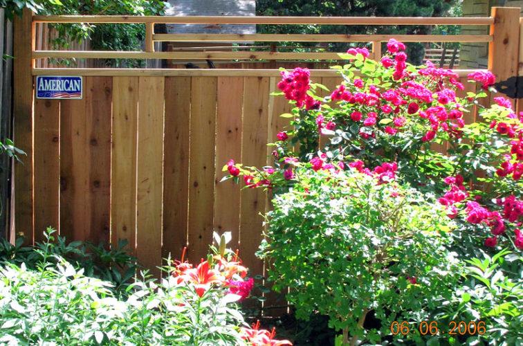 AFC Cedar Rapids - Wood Fencing, 1075 Frank Lloyd Wright Fence