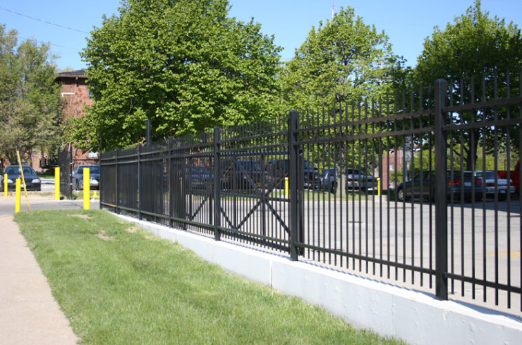AFC Cedar Rapids - Ornamental Fencing, 1077 Classic Black Aegis II Energy Services