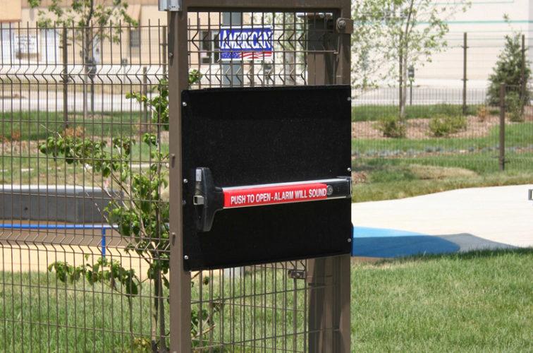 AFC Cedar Rapids - Woven & Welded Wire Fencing, 1241 Omega Panic Door