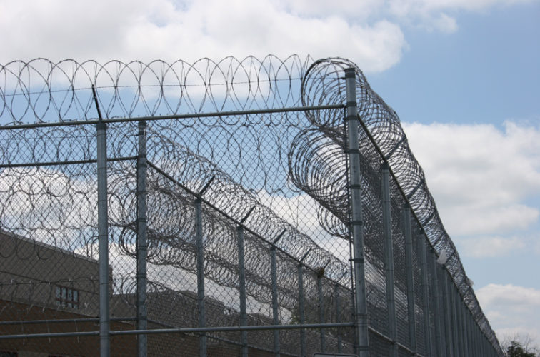 AFC Cedar Rapids - High Security Fencing, 2102 Correctional fence with Concertina wire