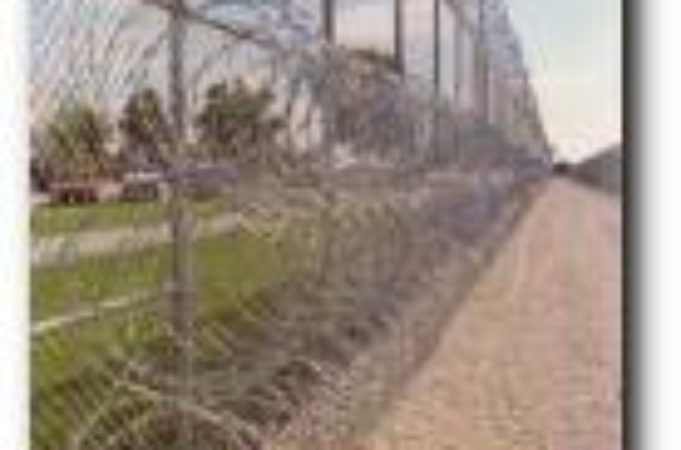 AFC Cedar Rapids - High Security Fencing, 2105 concertina wire 3 coils