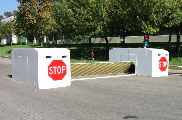 AFC Cedar Rapids - K-Rated Vehicle Restraint Systems Fencing, 2112 Mobile Vehicle Barrier