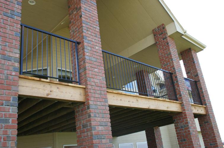 AFC Cedar Rapids - Custom Railing, 2213 Deck Railing