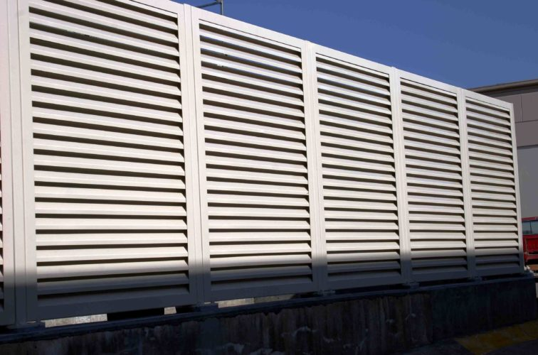 AFC Cedar Rapids - Louvered Fence Systems Fencing, 2223 Louvered Fence