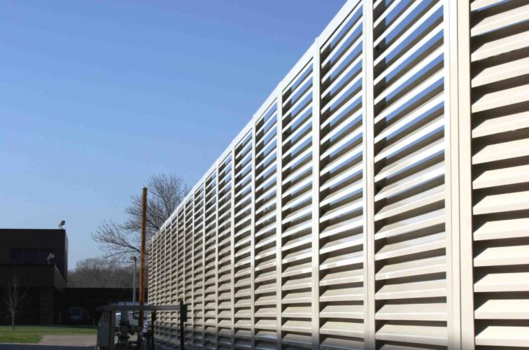AFC Cedar Rapids - Louvered Fence Systems Fencing, 2224 Louvered Fence