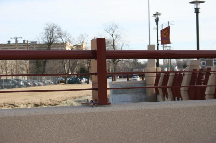 AFC Cedar Rapids - Custom Railing, 2225 Knee Wall Railing