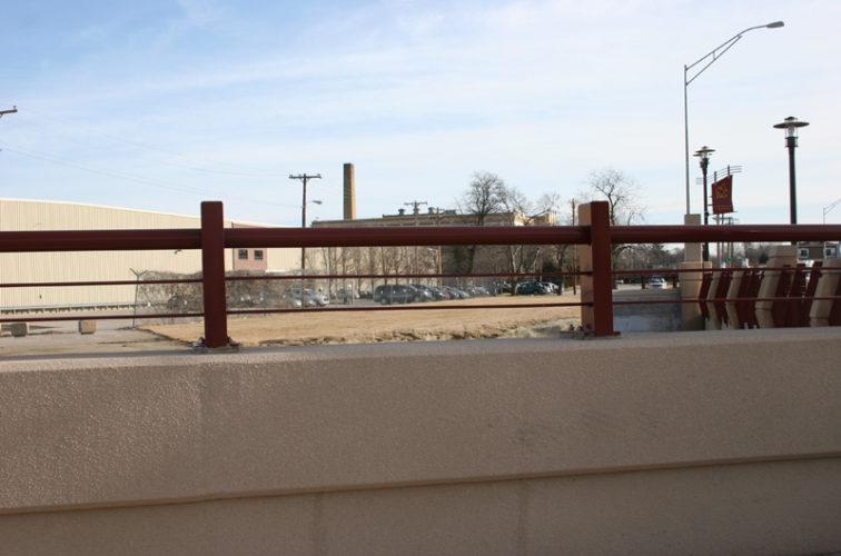 AFC Cedar Rapids - Custom Railing, 2226 Knee Wall Railing