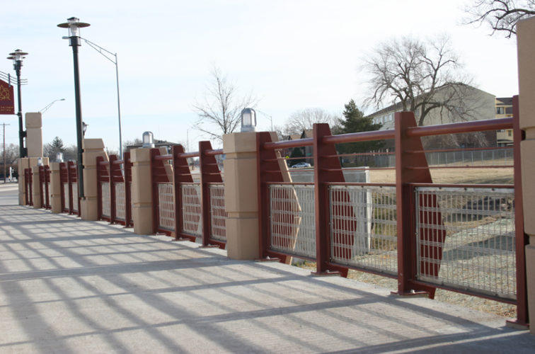 AFC Cedar Rapids - Custom Railing, 2227 Stainless Steel In-fill Railing