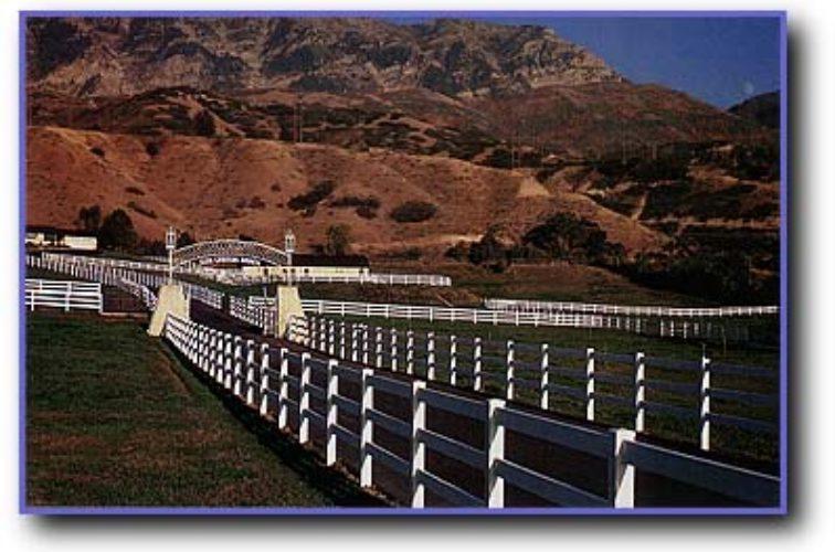 AFC Cedar Rapids - Vinyl Fencing, 3 Ranch Rail (956)