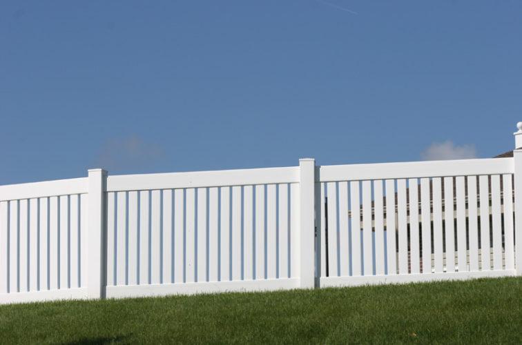 AFC Cedar Rapids - Vinyl Fencing, 4' Closed Picket 569