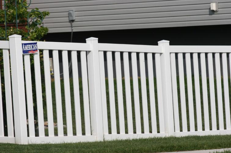 AFC Cedar Rapids - Vinyl Fencing, 4' Closed Picket 580