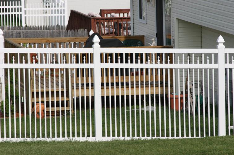 AFC Cedar Rapids - Vinyl Fencing, 4' Ornamental Picket Conquer 854