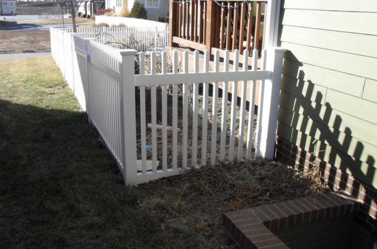AFC Cedar Rapids - Vinyl Fencing, 4' Picket PVC