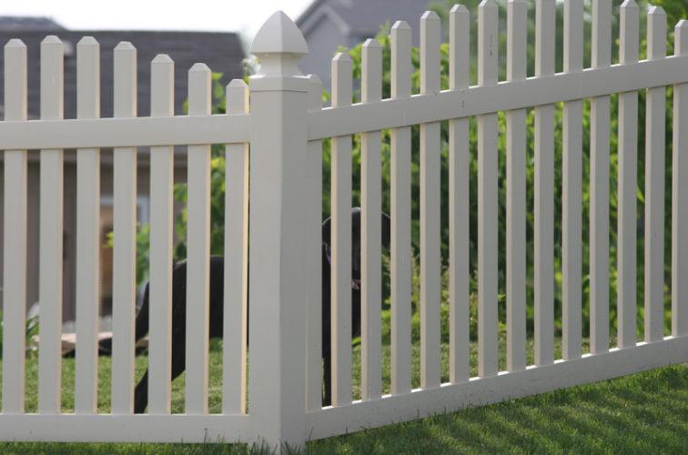 AFC Cedar Rapids - Vinyl Fencing, 4' overscallop picket 550
