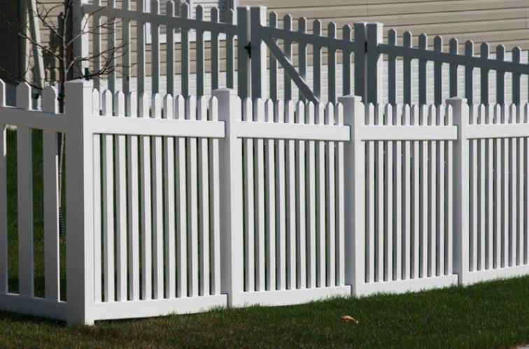 AFC Cedar Rapids - Vinyl Fencing, 559 Vinyl 4' picket