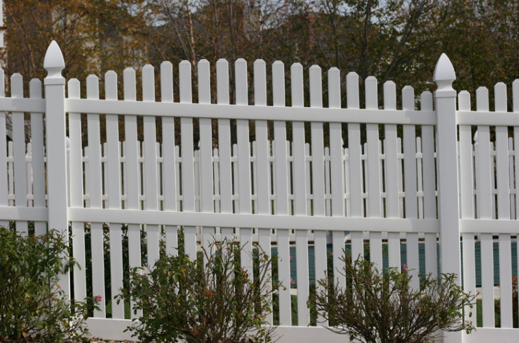 AFC Cedar Rapids - Vinyl Fencing, 560 Vinyl 6' overscallop picket 2