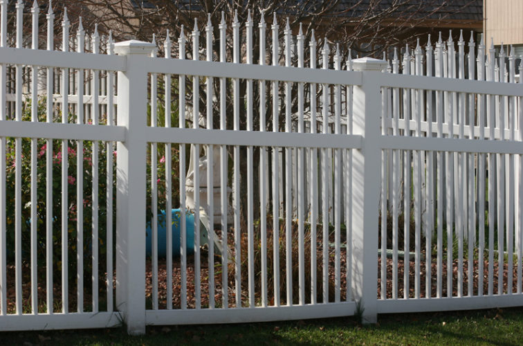 AFC Cedar Rapids - Vinyl Fencing, 562 Vinyl Ornamental Overscallop 6' Photo