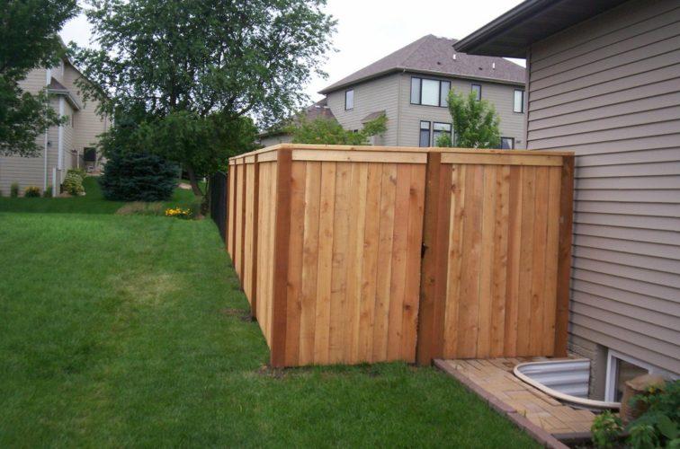AFC Cedar Rapids - Wood Fencing, 6' Capboard - AFC - IA