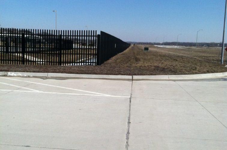 AFC Cedar Rapids - K-Rated Vehicle Restraint Systems Fencing, 8' Crash Rated Ornamental Impasses - AFC - IA