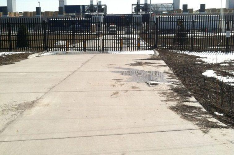 AFC Cedar Rapids - K-Rated Vehicle Restraint Systems Fencing, 8' Crash Rated Ornamental Impasse 2 - AFC - IA