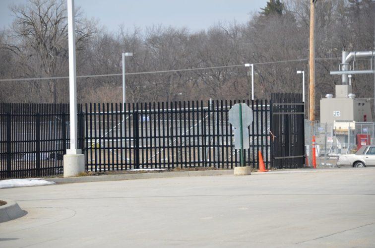 AFC Cedar Rapids - K-Rated Vehicle Restraint Systems Fencing, 8' Crash Rated Ornamental Impasse 3 - AFC - IA