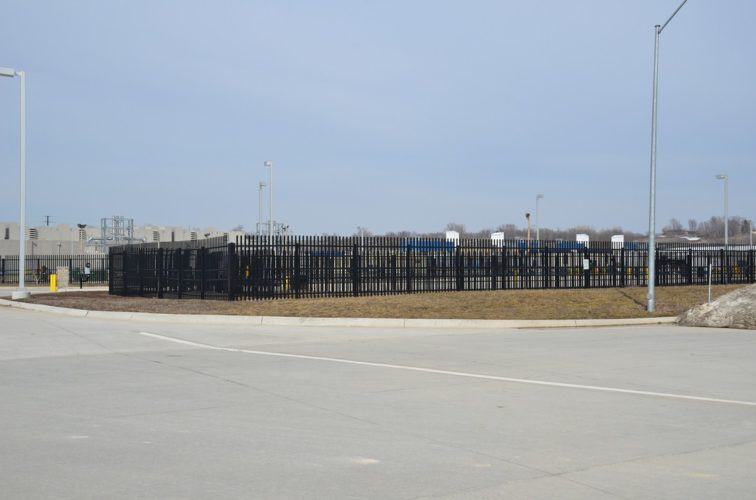 AFC Cedar Rapids - K-Rated Vehicle Restraint Systems Fencing, 8' Crash Rated Ornamental Impasse - AFC - IA