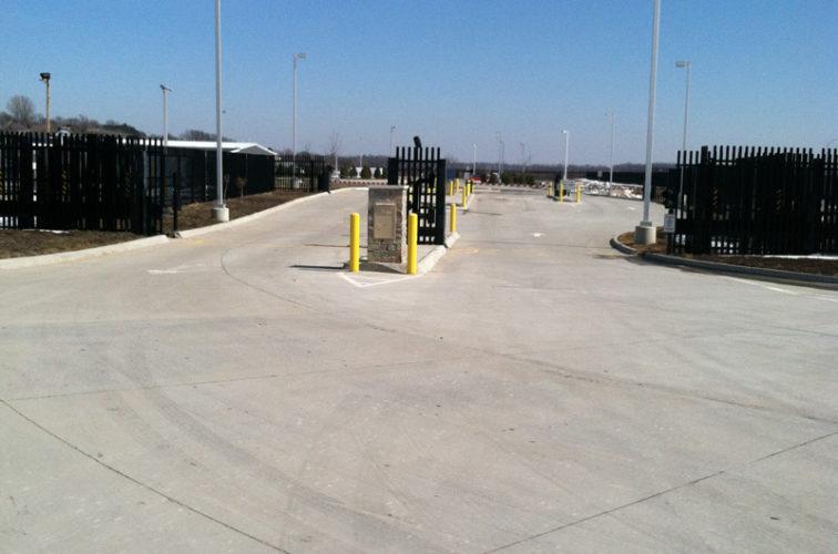 AFC Cedar Rapids - K-Rated Vehicle Restraint Systems Fencing, 8' Crash Rated Ornamental Impasse 7 - AFC - IA