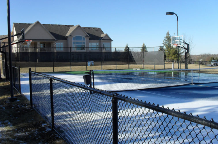 AFC Cedar Rapids - Sports Fencing, BVCL Tennis Court