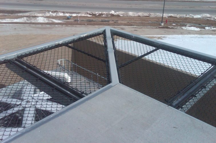 AFC Cedar Rapids - Chain Link Fencing, Bellevue Hospital 25th and Cornhusker(10)
