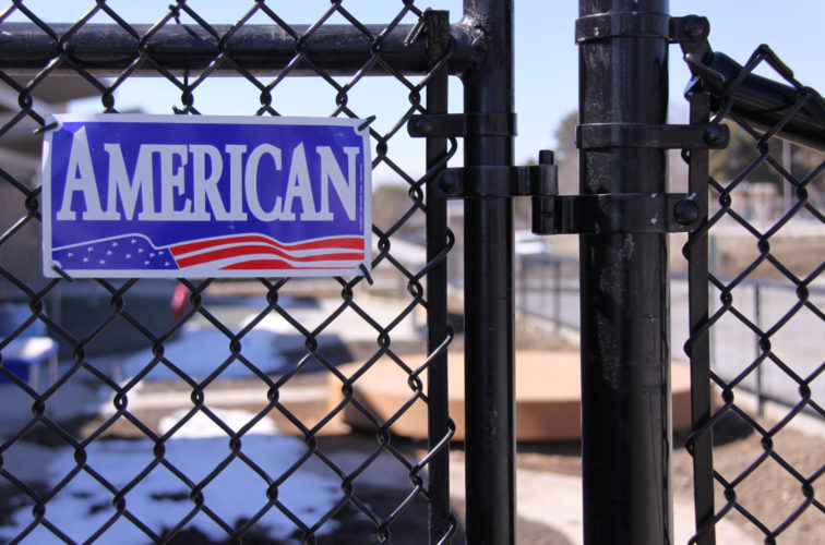 AFC Cedar Rapids - Chain Link Fencing, Black Vinyl Chain Link Gate