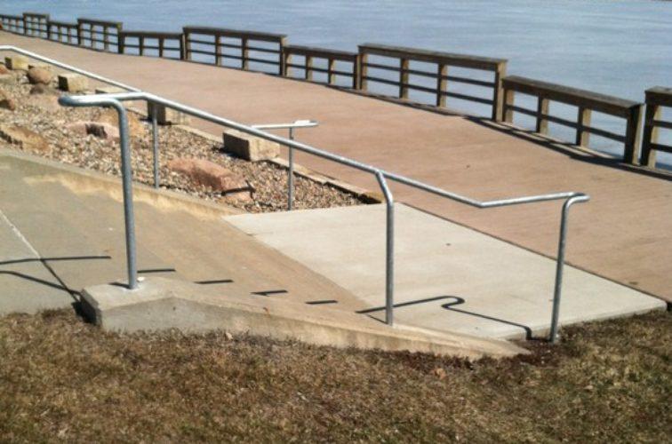 AFC Cedar Rapids - Custom Railing, Custom Galvanized Handrail - AFC - IA