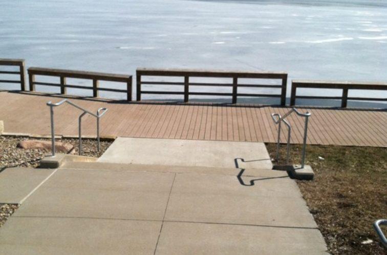 AFC Cedar Rapids - Custom Railing,Custom Galvanized Handrail 2 - AFC - IA