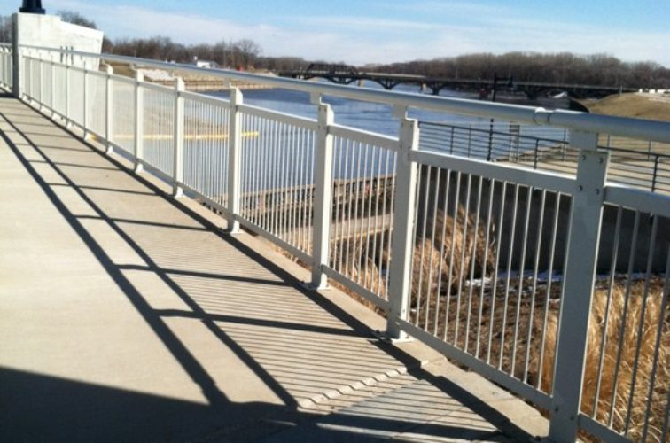 AFC Cedar Rapids - Custom Railing, Custom Ornamental Railing - AFC - IA