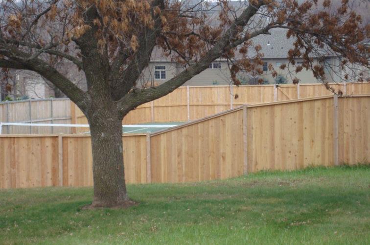 AFC Cedar Rapids - Wood Fencing, Cedar Privacy Capboard AFC, SD