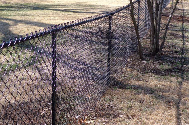 AFC Cedar Rapids - Chain Link Fencing, 4' Black Vinyl Chain Link - AFC-KC