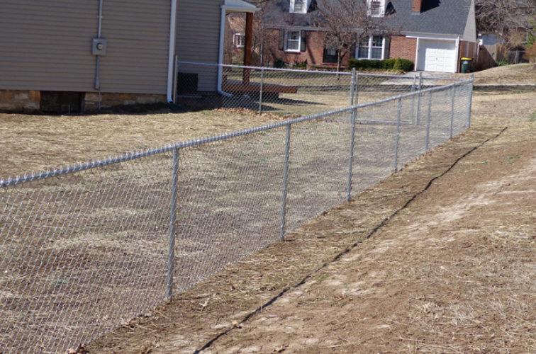 AFC Cedar Rapids - Chain Link Fencing, 4' Galvanized Chain Link - AFC-KC