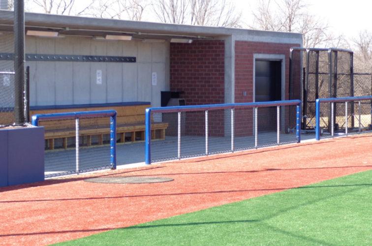 AFC Cedar Rapids - Sports Fencing, Commercial - Railing - AFC-KC