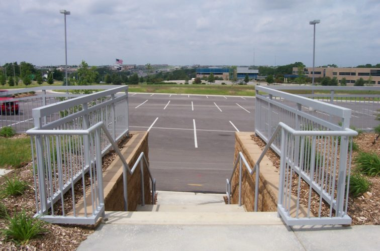 AFC Cedar Rapids - Custom Railing, Covnetry- 170th and Dodge - Omaha 1