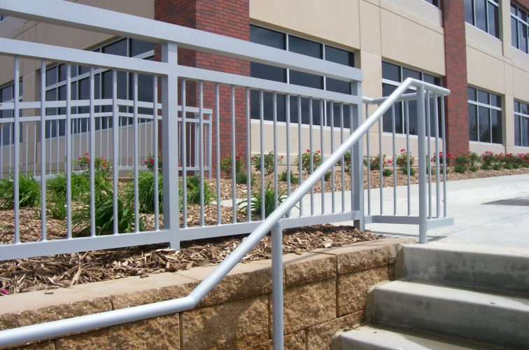 AFC Cedar Rapids - Custom Railing, Coventry- 170th and Dodge - Omaha 1