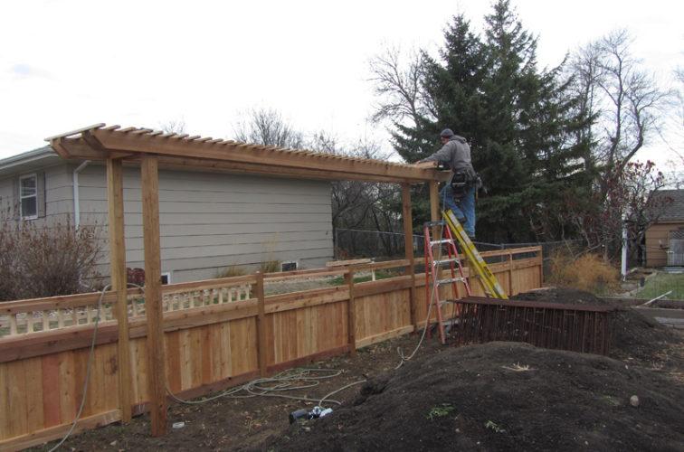 AFC Cedar Rapids - Wood Fencing, Custom Arbor AFC, SD